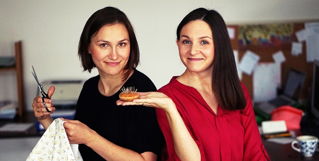 Maria Sulewska i Agnieszka Wróblewska